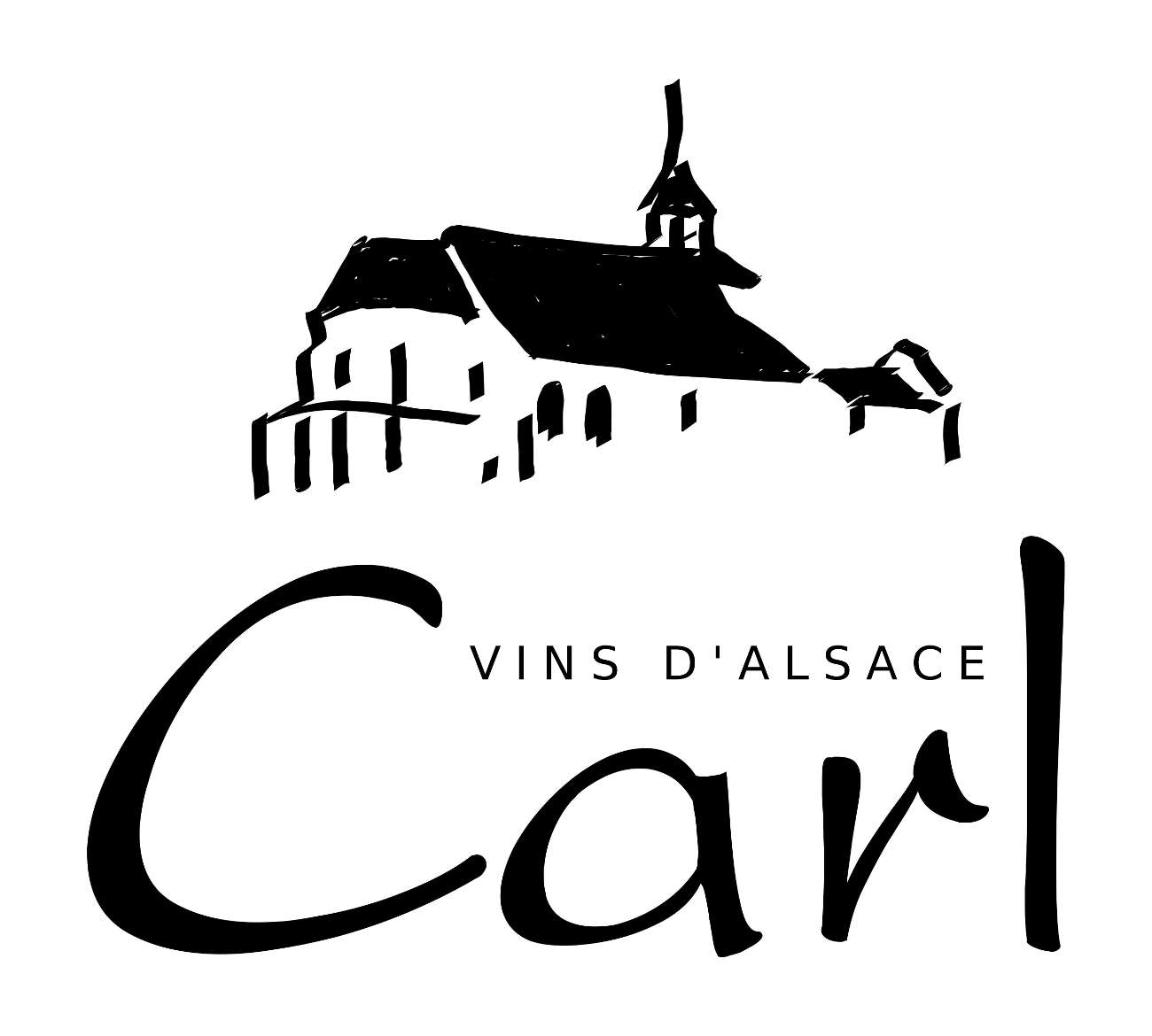 logo Carl vins d'Alsace, vins bio André Carl