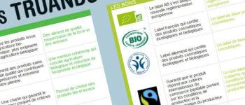les différents labels du bio