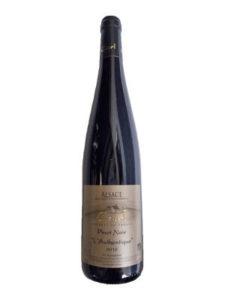 bouteille de pinot noir Authentique